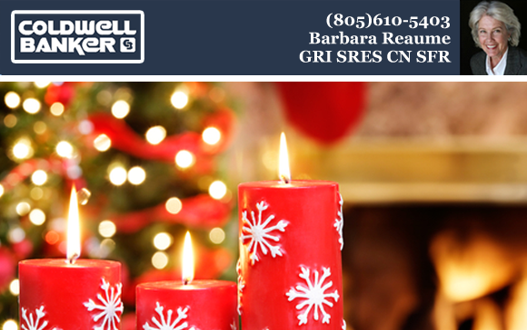 Happy Holidays From Barbara Reaume and Coldwell Banker Montecito